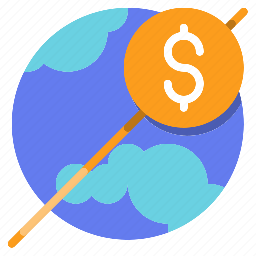 coin, currency, method, money, payment, worldwide icon