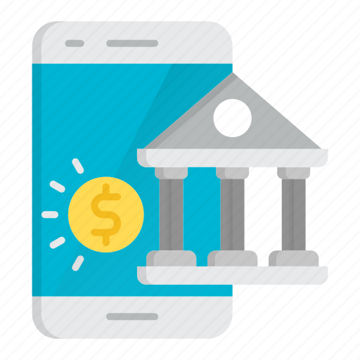 banking, digital, mobile, online, payment, savings icon