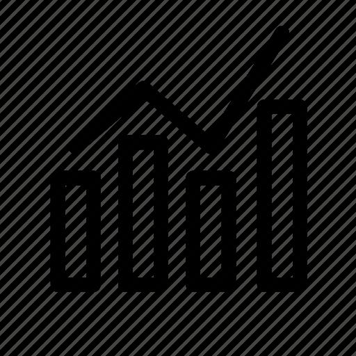 Bar, chart, analysis, diagram, graph, statistics icon - Download on Iconfinder
