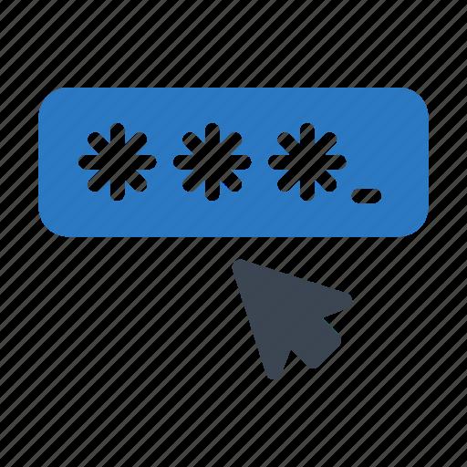 Arrow, click, cursor, login, password icon - Download on Iconfinder