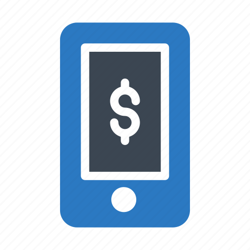 Banking, dollar, mobile, online, pay icon - Download on Iconfinder
