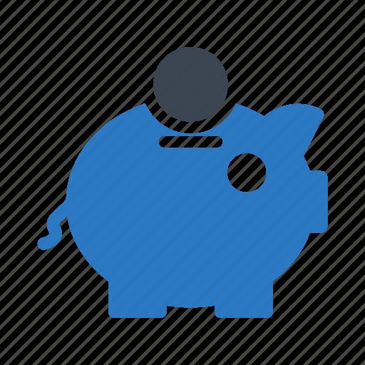 bank, finance, money, piggy, saving icon