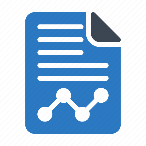 analytic, document, file, report, sheet icon
