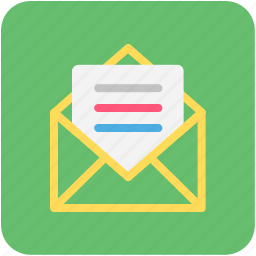 email, letter, mail, post icon