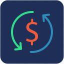 dollar, money, refresh icon