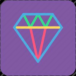 banking, diamond, finance, jewellery icon