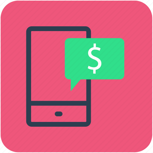 banking, dollar, finance, mobile, money icon