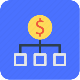 banking, dollar, finance, hierarchy, money icon