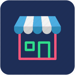 banking, finance, shop, shopping icon