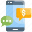 business, sms transaction, message, technology, money