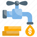 budget, business, earning, passive, profit icon
