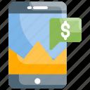 invoice, cashier, check balances, transaction, technology icon