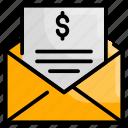 email, envelope, internet, letter, send