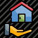 application, finance, home loan, loan icon