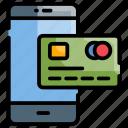 finance, mobile banking, money, online, transaction icon