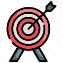 dart, market, finance, target finance, plan icon