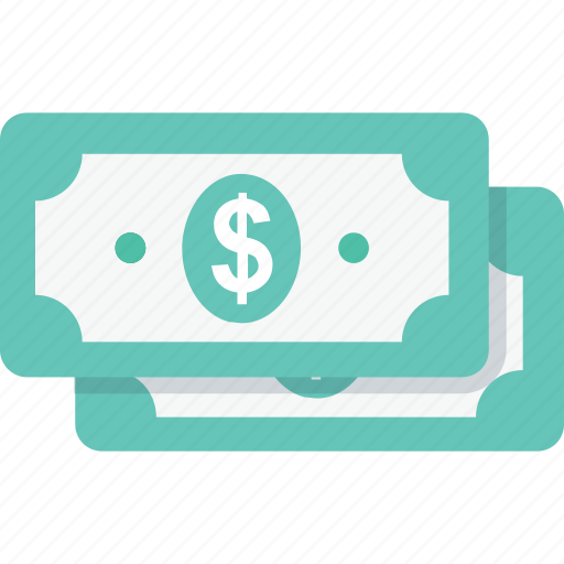 banking, banknotes, currency, money, paper money icon