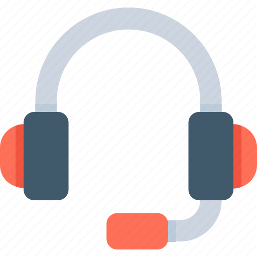 customer service, earphones, headphones, headset, telemarketing icon