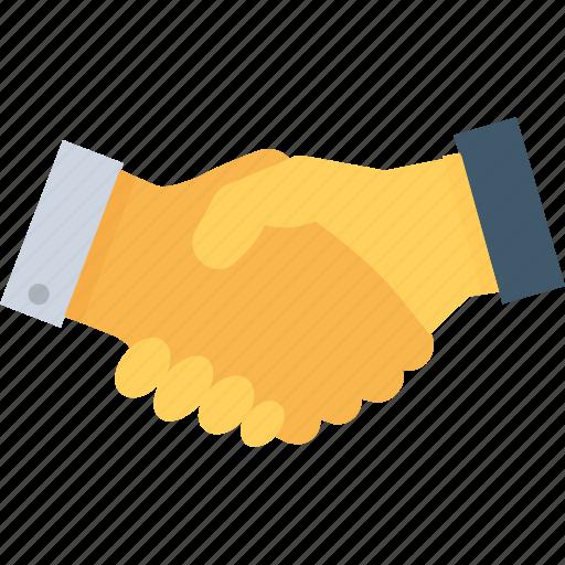 business, deal, partners, partnership, shake hand icon