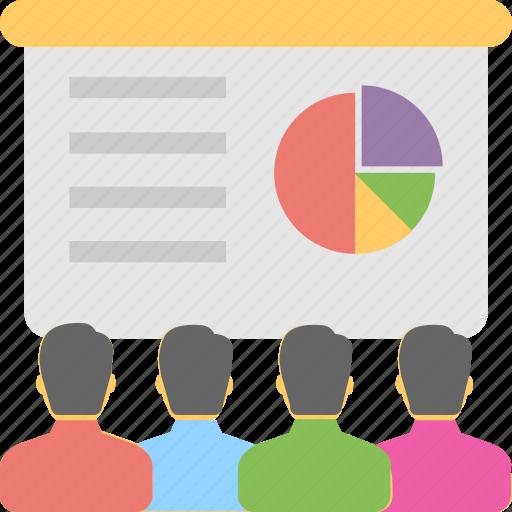lecture, meeting, presentation, seminar, training icon