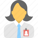 employee, cashier, manager, worker, teller icon