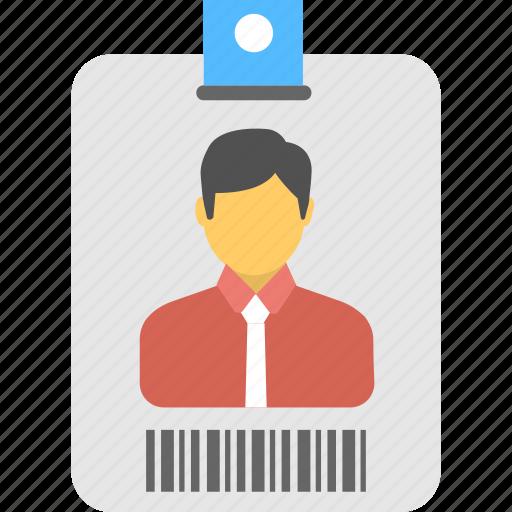 employee card, id, id card, identification, identity icon