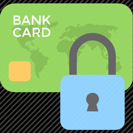 card security, credit card, debit card, lock, security icon