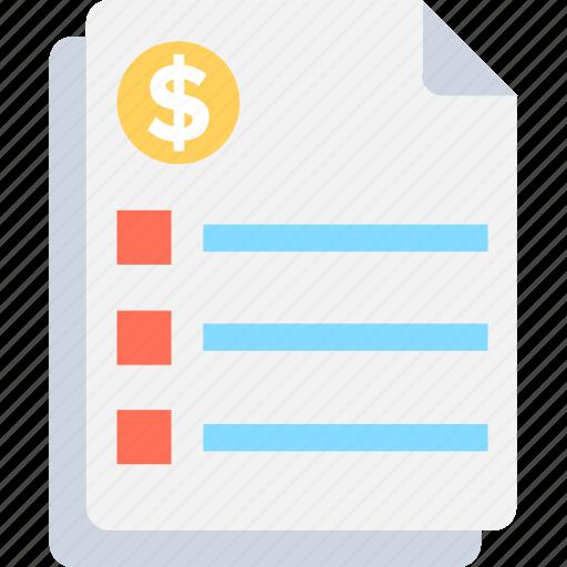 agenda, checklist, report, task, to do icon