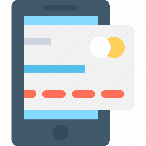 banking, credit card, mcommerce, mobile, mobile banking icon