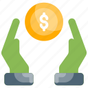 assets, benefit, investment, money, saving icon