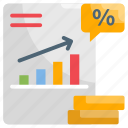 earn, fund, interest rate, strategy, time icon