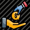 community, donate, donation, humanitarian, sharing icon