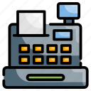accounting, cash register, checkout, shopping, store