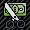 advertisement, cut price, sale, scissors, shopping