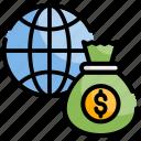 chart, finance, global investment, management, money