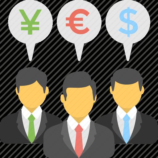 banker, businessman, corporate, financier, investor icon