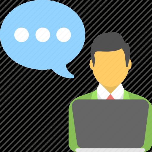 chat bubble, communication, consult, conversation, talk icon