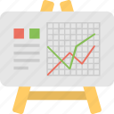 analysis, analytics, graph, presentation, statistics icon