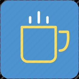 cup, hot tea, hot tea cup, tea icon