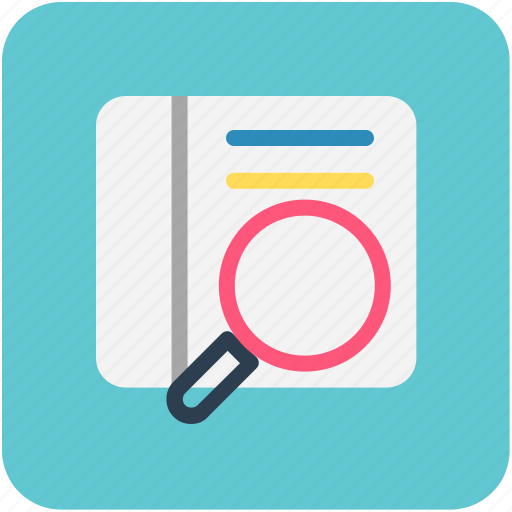 Inspection, magnifier, magnifying, search icon - Download on Iconfinder