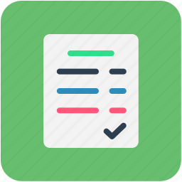 document, paper, sheet icon