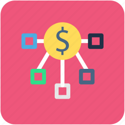 banking, currency, finance, hierarchy, money icon