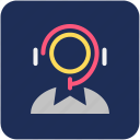 call center, customer care, helpline icon