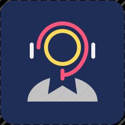 call center, customer care, helpline icon
