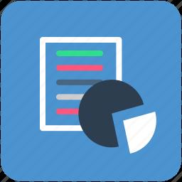 analytics, banking, chart, finance, pie chart icon