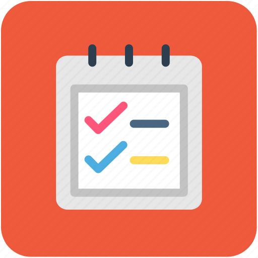 banking, diary, finance, notepad, steno pad icon