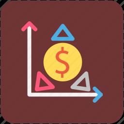 banking, dollars, finance, money icon