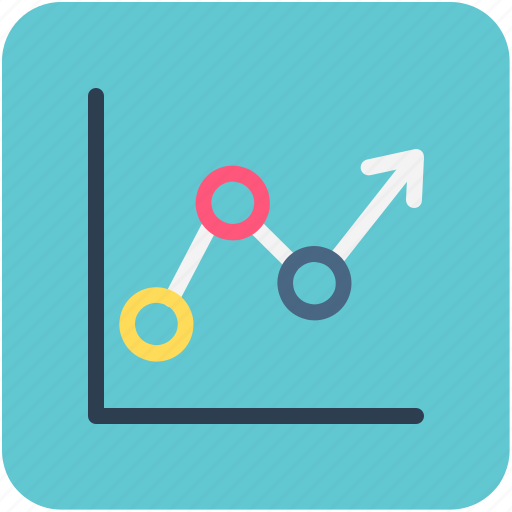 analytics, arrow, graph, stat, statistics icon