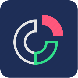 chart, data, percentage, pie, pie chart, statistics icon
