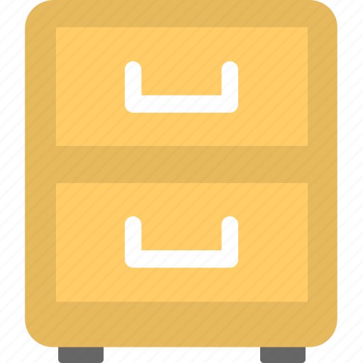 bureau, cabinet, chest of drawers, drawers, filing cabinets icon